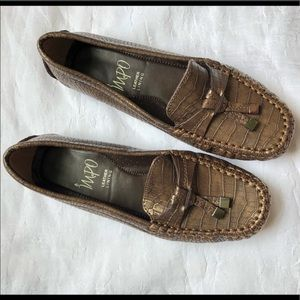 IMPO   Brown Leather Loafers Size 6.5